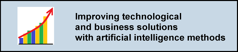 Improving business processes with artificial intelligence methods