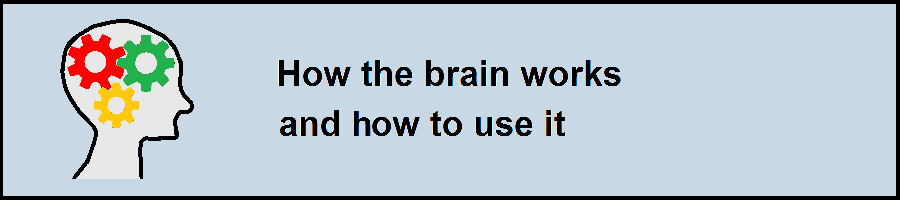 How the brain works and how to use it